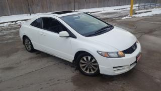 Used 2010 Honda Civic EX-L,  Leather, Sunroof, 3/Y Warranty available for sale in Toronto, ON