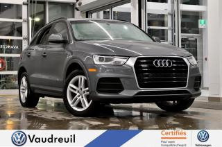 Used 2016 Audi Q3 2.0T Komfort quattro * TOIT * BANCS CHAU for sale in Vaudreuil-Dorion, QC