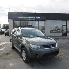 Used 2009 Mitsubishi Outlander ES AWD for sale in St-Hubert, QC
