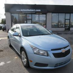 Used 2012 Chevrolet Cruze LT **DÉMARREUR A DISTANCE** for sale in St-Hubert, QC