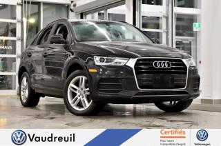 Used 2016 Audi Q3 2.0T Komfort quattro *** Réservé *** for sale in Vaudreuil-Dorion, QC