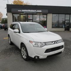 Used 2014 Mitsubishi Outlander GT AWD **7 PLACES** for sale in St-Hubert, QC