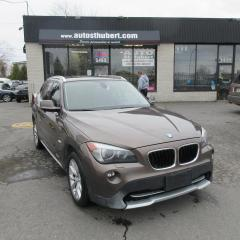 Used 2012 BMW X1 XDRIVE 28I **NAVIGATION/GPS + TOIT PANO* for sale in St-Hubert, QC