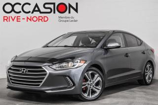 Used 2017 Hyundai Elantra GLS TOIT.OUVRANT+MAGS+BLUETOOTH for sale in Boisbriand, QC