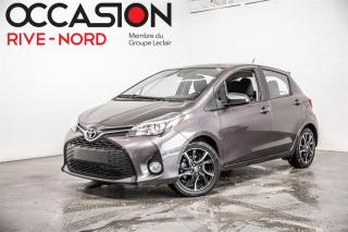 Used 2017 Toyota Yaris SE MAGS+A/C+BLUETOOTH for sale in Boisbriand, QC