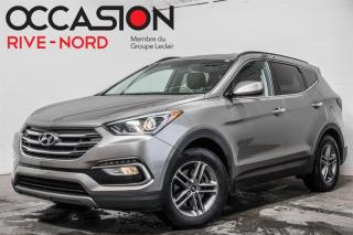 Used 2018 Hyundai Santa Fe Sport AWD CAM.RECUL+SIEGES.CHAUFFANTS+BLUETOOTH for sale in Boisbriand, QC