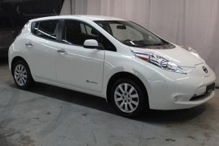Used 2017 Nissan Leaf S (BAS KILO 35850KM) CHARGE RAPIDE for sale in St-Constant, QC