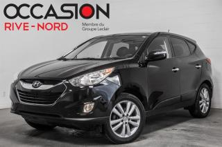 Used 2013 Hyundai Tucson Limited AWD NAVI+CUIR+TOIT.OUVRANT for sale in Boisbriand, QC