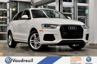Used 2016 Audi Q3 2.0T Komfort * TOIT PANO * 18 POUCES for sale in Vaudreuil-Dorion, QC