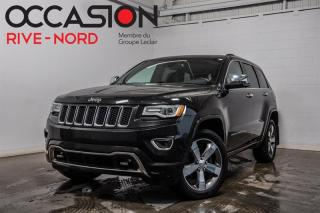 Used 2015 Jeep Grand Cherokee Overland V6 NAVI+CUIR+TOIT.PANO for sale in Boisbriand, QC