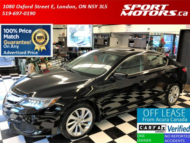 2016 Acura ILX TECH PKG+Camera+Leather+Blind Spot+Lane Assist
