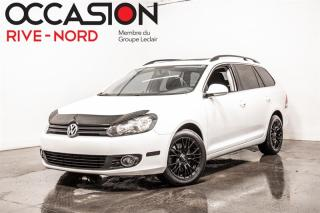 Used 2013 Volkswagen Golf Wagon TDI Comfortline TOIT.PANO+MAGS+SIEGES.CHAUFFANTS for sale in Boisbriand, QC