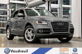 Used 2016 Audi Q5 3.0T Technik * S-LINE * NAV for sale in Vaudreuil-Dorion, QC