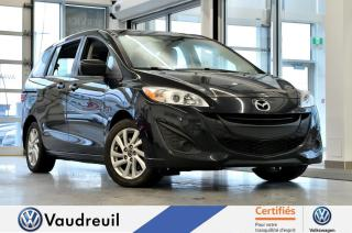 Used 2016 Mazda MAZDA5 GS * A/C * 6 PASSAGERS for sale in Vaudreuil-Dorion, QC