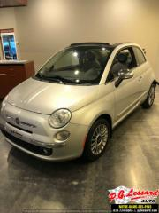 Used 2012 Fiat 500 LOUNGE Convertible for sale in St-Prosper, QC