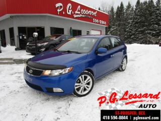 Used 2011 Kia Forte5 Sx 2.4l 173 h/p siege cuir chauffant toit bluetooth for sale in St-Prosper, QC