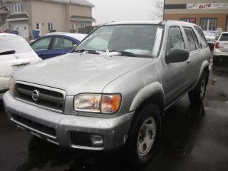 Used 2003 Nissan Pathfinder 4 portes, Édition Chilkoot, 4x4, for sale in St-Sulpice, QC