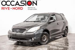 Used 2006 Toyota Matrix Manuelle A/C for sale in Boisbriand, QC
