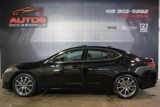 Used 2015 Acura TLX SH-AWD V6 TECH PACKAGE CUIR TOIT GPS NAV 65 560 KM for sale in Lévis, QC