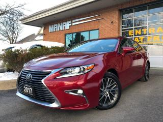 Used 2017 Lexus ES 350 Sunroof Navi Heated & Ventilated Seats R. Cam Cert for sale in Concord, ON