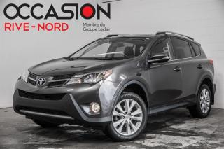 Used 2014 Toyota RAV4 Limited AWD NAVI+CUIR+TOIT.OUVRANT for sale in Boisbriand, QC