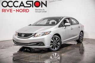 Used 2015 Honda Civic EX MAGS+TOIT.OUVRANT+CAM.RECUL for sale in Boisbriand, QC