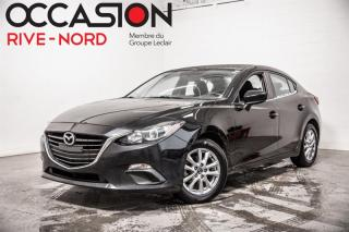Used 2016 Mazda MAZDA3 GS MAGS+BLUETOOTH+SIEGES.CHAUFFANTS for sale in Boisbriand, QC