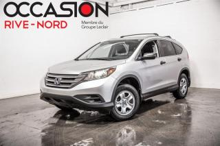 Used 2014 Honda CR-V LX AWD SIEGES.CHAUFFANTS+CAM.RECUL for sale in Boisbriand, QC