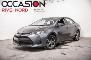 Used 2017 Toyota Corolla LE MAGS+TOIT.OUVRANT+CAM.RECUL for sale in Boisbriand, QC
