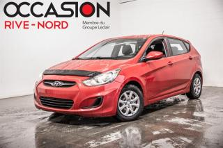 Used 2013 Hyundai Accent GL SIEGES.CHAUFFANTS+BLUETOOTH+A/C for sale in Boisbriand, QC