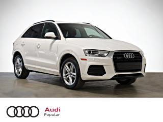 Used 2017 Audi Q3 2.0T Komfort quattro 4 portes for sale in Montréal, QC