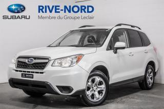 Used 2016 Subaru Forester BLUETOOTH+CAM.RECUL+SIEGES.CHAUFFANTS for sale in Boisbriand, QC