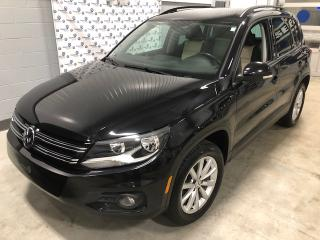 Used 2017 Volkswagen Tiguan ÉDITION WOLFSBURG (85$ par sem.)* for sale in Chicoutimi, QC