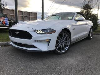 Used 2019 Ford Mustang GT haut niveau Convertible Automatique V for sale in St-Eustache, QC