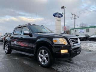 Used 2009 Ford Explorer Sport Trac V8 Limited Toit ouvrant for sale in St-Eustache, QC