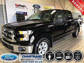Used 2017 Ford F-150 Cab SuperCrew 4RM 145 po XLT for sale in Laval, QC