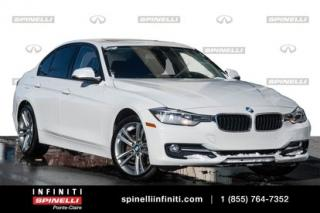 Used 2015 BMW 3 Series 320i xDrive / FULL WARRANTY 2022 TOIT / BLUETOOTH / CRUISE CONTROL for sale in Montréal, QC