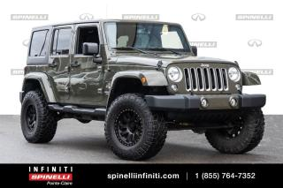 Used 2016 Jeep Wrangler SAHARA  / GPS / BLUETOOTH SAHARA  / GPS / BLUETOOTH for sale in Montréal, QC