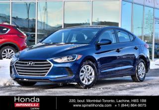 Used 2017 Hyundai Elantra LE AUTO AC AUTO SIEGES CHAUFFANTS BLUETOOTH for sale in Lachine, QC
