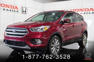 Used 2017 Ford Escape TITANIUM + GARANTIE+ AWD + TOIT PANORAMI for sale in St-Basile-le-Grand, QC