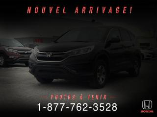 Used 2015 Honda CR-V LX AWD for sale in St-Basile-le-Grand, QC