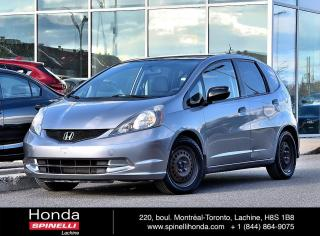 Used 2009 Honda Fit DEAL PENDING DX-A AUTO AC AUBAINE AUTO AC PNEUS D'HIVER SUR JANTES++ for sale in Lachine, QC