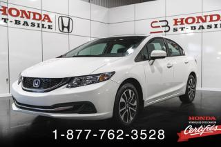 Used 2015 Honda Civic EX AUTOMATIQUE for sale in St-Basile-le-Grand, QC