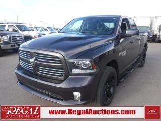 Used 2016 RAM 1500 Sport Quad Cab SWB 4WD 5.7L for sale in Calgary, AB