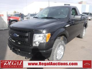 Used 2013 Ford F-150 STX REG CAB 4WD 5.0L for sale in Calgary, AB