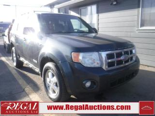 Used 2008 Ford Escape 4D Utility AWD for sale in Calgary, AB
