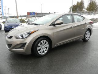 Used 2014 Hyundai Elantra GL AUTOMATIQUE AIR CLIM!! for sale in St-Georges, QC