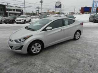 Used 2016 Hyundai Elantra L GR. ELECTRIQUE BAS PRIX!! for sale in St-Georges, QC