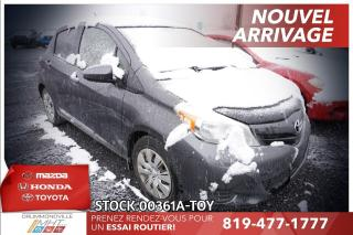 Used 2012 Toyota Yaris LE* CLIMATISATION* GR. ÉLECTRIQUE for sale in Drummondville, QC
