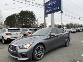 Used 2015 Infiniti Q50 Berline Sport 4 portes traction intégral for sale in Victoriaville, QC